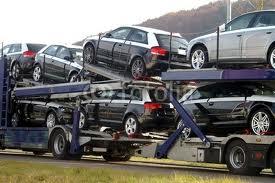 Komplete Ladungen von Autos nach Spanien